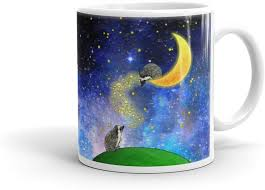 How many of us stand guilty of doodling during meetings or lectures? Amazon Com Hedgehog Art Mug Cute Moon And Stars Hedgehog Drawing Hedgehog Art Adorable Hedgehog Coffee Cup By Urchin Wear Coffee Cups Mugs