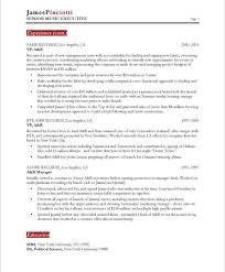 Entertainment Resume Template Inspiration Music Industry Resume Template Music Industry Executive Page28