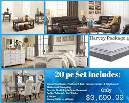 harvey whole house package 4 katy furniture whole house furniture packages a95