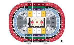 Chicago United Center Concert Seating Chart Seating Charts United Center