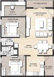 3 bhk house plan in 1200 sq ft inspirational 3 bedroom house plan indian style modern