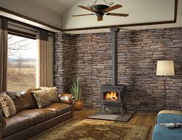 image of prefab wood burning fireplace inserts