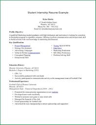 Resume For Undergraduate Student Proyectoportal Com
