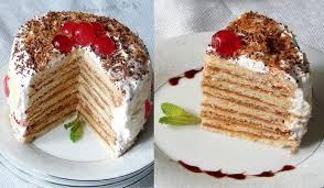 Kitchen Corner Try It Medovik Russian Honey Cake Baking