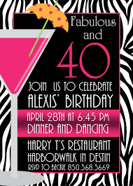 40th Birthday Invitations Free Templates Pictures Of Stylish Women For 40th Birthday Invitation