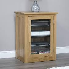 arden solid oak hi fi stereo storage cabinet modern living room furniture mobel solid oak dvd