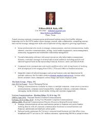 Corporate Communications Resume Inspiration Bill Kula APR Resume