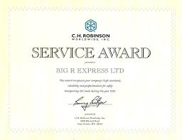Service Awards Certificates Template Award Certificate Templates ...