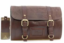 ashwood hanging wash shaving bag attractive leather