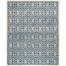 cambridge navy blue ivory 10 ft x 14 ft area rug