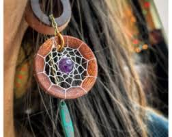 Dream Catcher Tunnels Dreamcatcher gauges Etsy 20