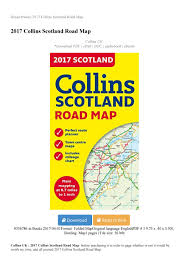 2017 Collins Scotland Road Map By Info Book Store Issuu