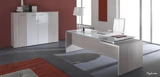 modern desk office. Home Office New York Black Glass Desk With Regard To Gallery Modern. Decor Ideas Modern