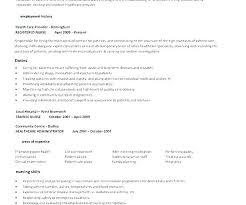 Modern Healthcare Resume Sample Of Nursing Resume Nursing Resume Template Nursing Resume
