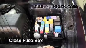replace a fuse 2001 2006 hyundai elantra 2003 hyundai elantra Hyundai Elantra Fuse Box 6 replace cover secure the cover and test component hyundai elantra fuse box diagram