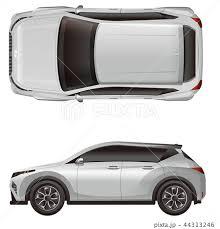 車のイラスト素材 44313246 Pixta