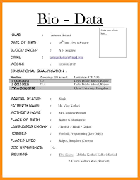 marriage biodata format in english marriage biodata format download word format