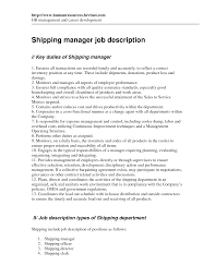 Shipping Clerk Resume 22 Shipping Assistant And Receiving Examples