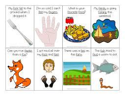 Ms. Lane's SLP Materials: Articulation: F Sentences Flash Cards ...