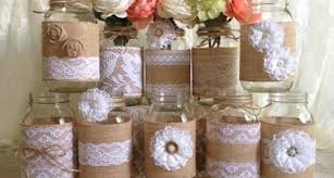 Decorated Jars For Weddings Smart Placement Mason Jar Decorations For A Wedding Ideas Tierra 9