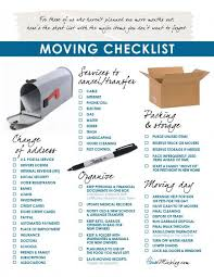 Moving Checklist Timeline Template Rq