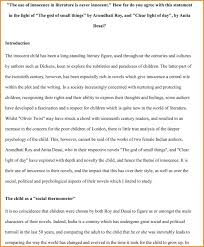 literary essay examples an example of useful outline analysis  examples of literary analysis essay a paragraph textual how to write high school critical example