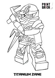 Coloring Pages Lego Ninjago Jay Movie Lloyd Free Kids Coloring