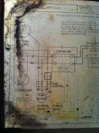 central a c compressor condensor fan not turning on doityourself here is the wiring diagram 0125 jpg views 112512 size 50 0 kb