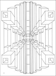 Small Picture Optical Illusion Coloring Pages Printable Enjoy Coloring