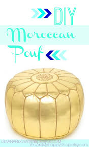 Make A Moroccan Pouf
