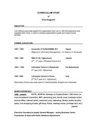 General Resume Objective Statements Bestresume Com