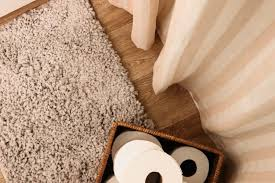 you don t have to sacrifice style for comfort this white rug in my bedroom was only 13 and the grey bathroom rugs came in a set of two for only 15