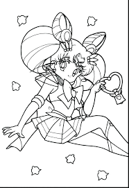 Anime Coloring Page Anime Coloring Pages S Cute Wolf Girl Online