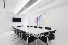 office meeting room design. Dentsu Office London Modern Minimalist Meeting Room Interior Design