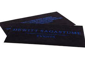 Black Colour Chart Paper Black Business Cards Foil Embossed Matte Uncoated Video
