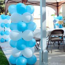 Disney Frozen Party Balloon Decorations