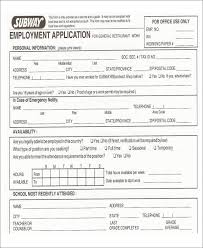 Sample Generic Application For Employment Delectable 48 Job Application Form Templates Free Premium Templates