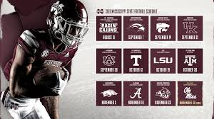 2019 football schedule unveiled
