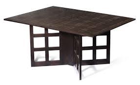 Drop Leaf Dining Table Bespoke Drop Leaf Dining Table In Oak Makers Eye