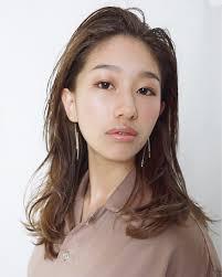 モード セミロング 前髪なし アンニュイjericho Hair Yoshihiko