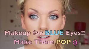 cat eye makeup tutorial for blue eyes