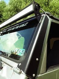 Jeep Tj 50 Light Bar Mount Jeep Tj Light Bar Mount 50 Inch 96 06 Led Lights Led