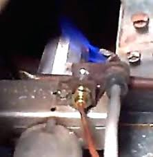gas fireplace thermocouple replacement propane freestanding