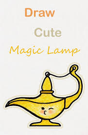 Learn How To Draw So Cute Magic Lamp Easy Step By Step Kawaii