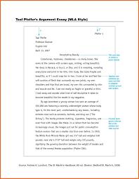 003 Essay Example Model Mla Paper Thatsnotus