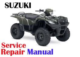 suzuki 2008 2009 suzuki king quad 750axi lt a750 service repair manual