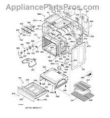 ge wb44t10010 oven bake element appliancepartspros com part diagram