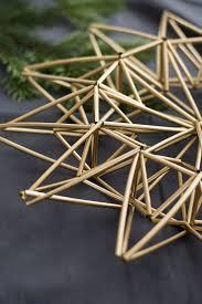Diy Weihnachtsstern Aus Trinkhalmen Himmeli Straw Mobile