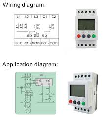elevator phase sequence control relay phase failure relay,voltage Phase Failure Relay Wiring Diagram when the terminals are conducted, relays pull in voltage, led lights and it will show the current voltage if the phases are correct and each voltage is phase failure relay circuit diagram