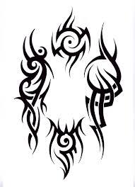 мужские эскизы тату трайбола студия художественной татуировки Pro